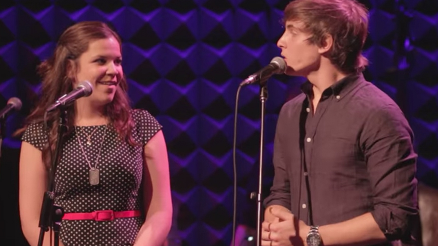 Hot Clip of the Day: Lindsay Mendez & Derek Klena Share a...