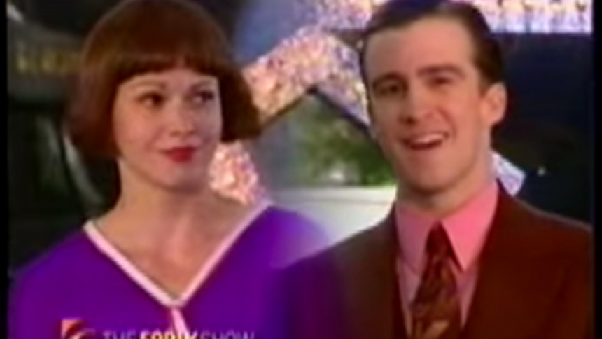 Hot Clip of the Day: Gavin Creel & Sutton Foster Turn A C...