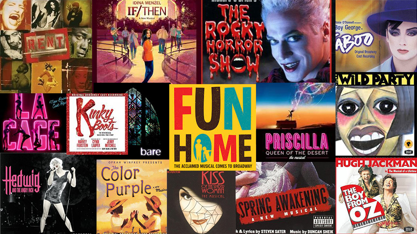 Gay Pride Playlist: 50 LGBT Songs from Broadway & Off-Bro...