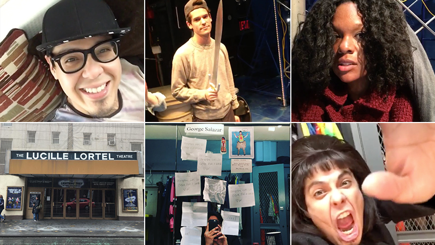 George Salazar Brings Instagram Along For a Hilarious Loo...