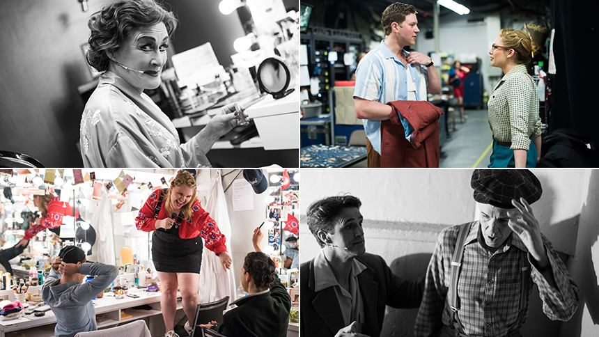 Exclusive Photos! Go Backstage at Broadway's Sunset Boule...