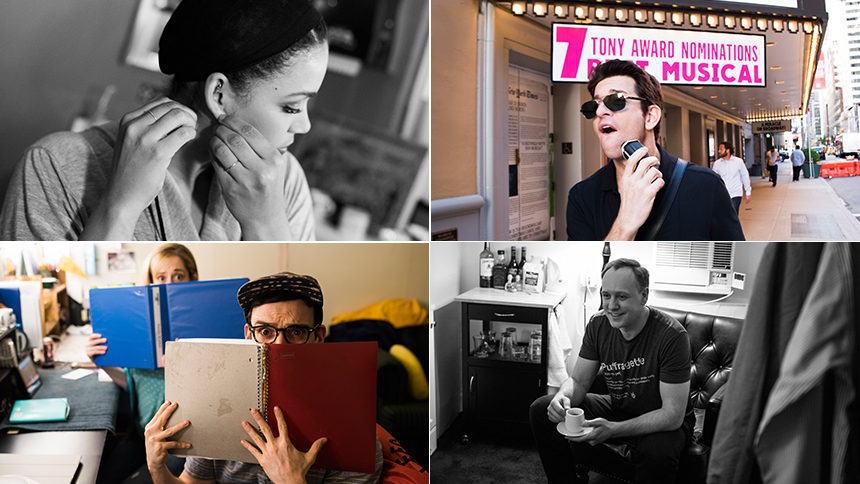 Exclusive Photos! Go Backstage at Broadway's Hit Musical ...