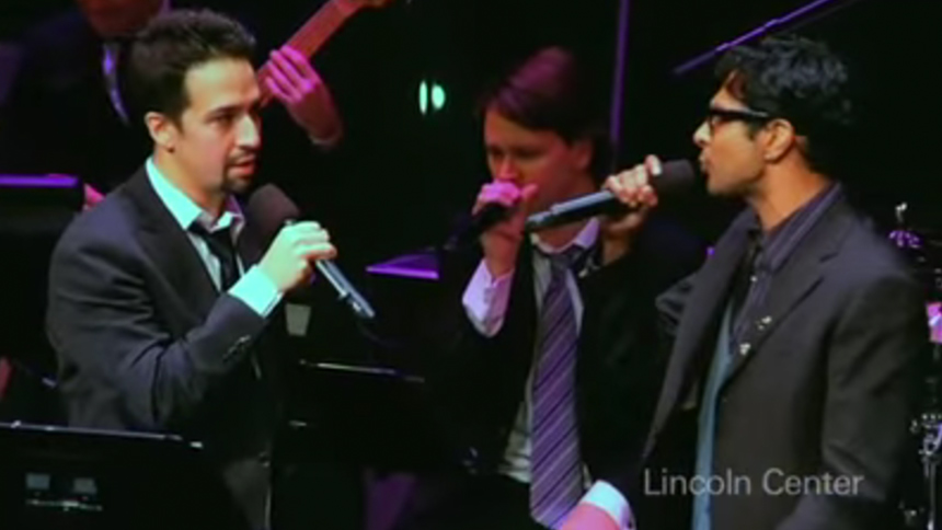 Hot Clip of the Day: #TBT to Lin-Manuel, Gavin Creel & Mo...