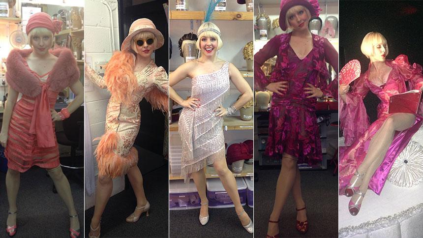 Garters & Marilyn & Boas, Oh My!  Helene Yorke Serves Fie...