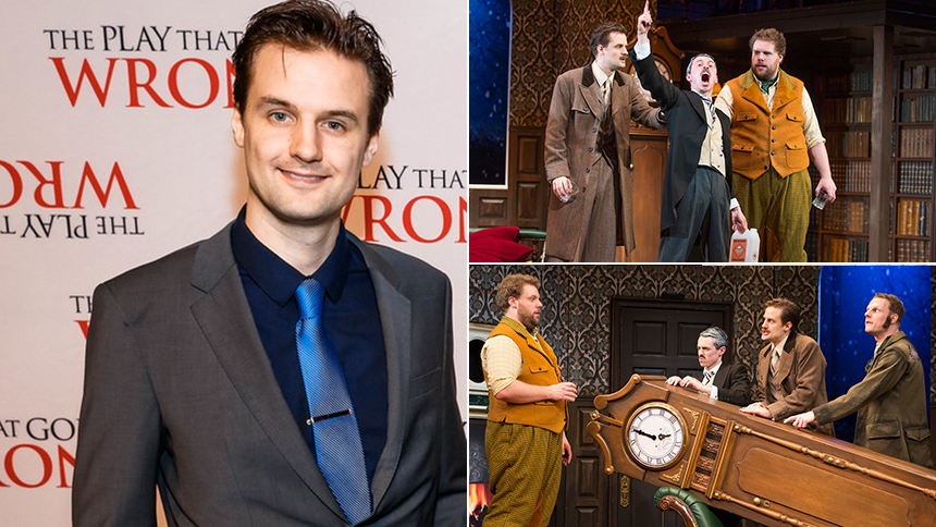 Five Burning Questions with The Play That Goes Wrong Oliv...