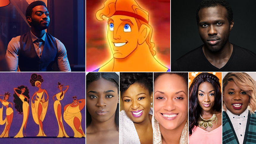 dream casting hercules the muses for the upcoming hercules musical