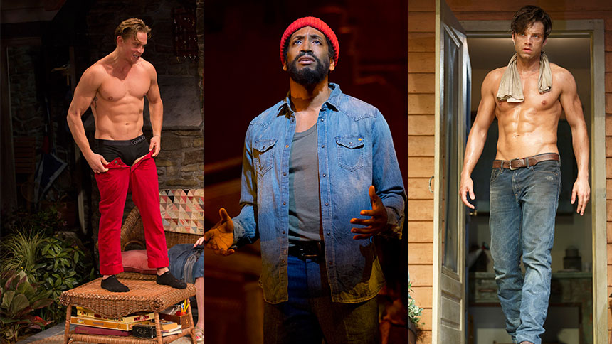 Five Sexiest Hunks Who Turned Up the Heat on Broadway in ...