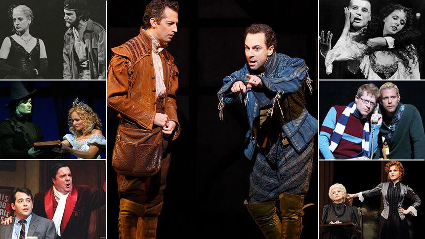 15 Pairs That Made Musical Theatre Magic Together