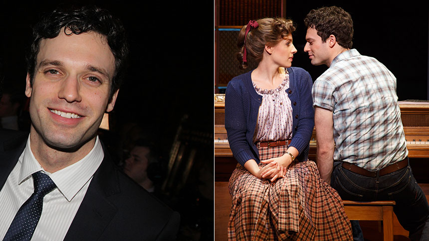 Record Breaker: Beautiful Star Jake Epstein Talks Goffin,...