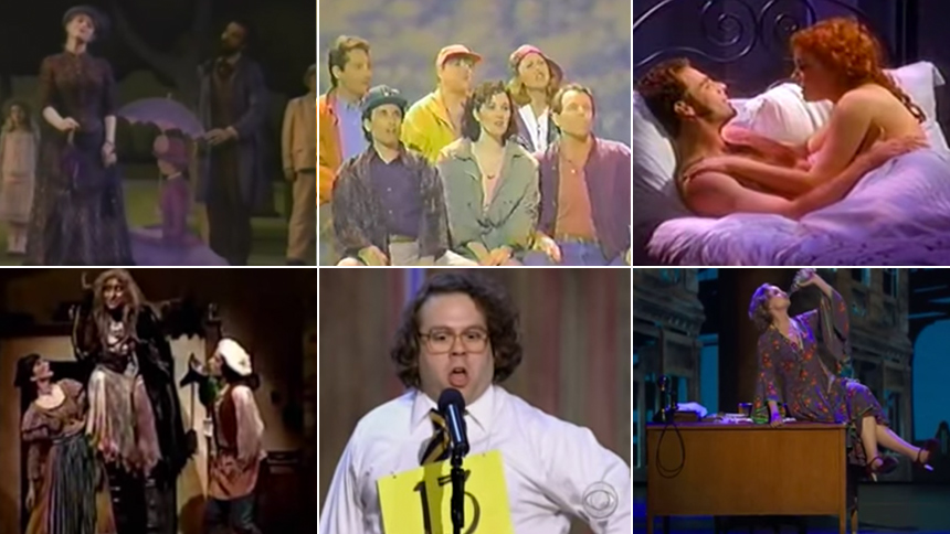 YouTube Spiral: All the  James Lapine Musicals' Tony Awar...