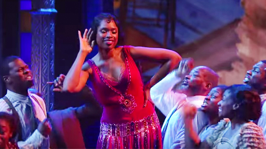 Hot Clip of the Day: J Hud & The Color Purple Cast Pushin...