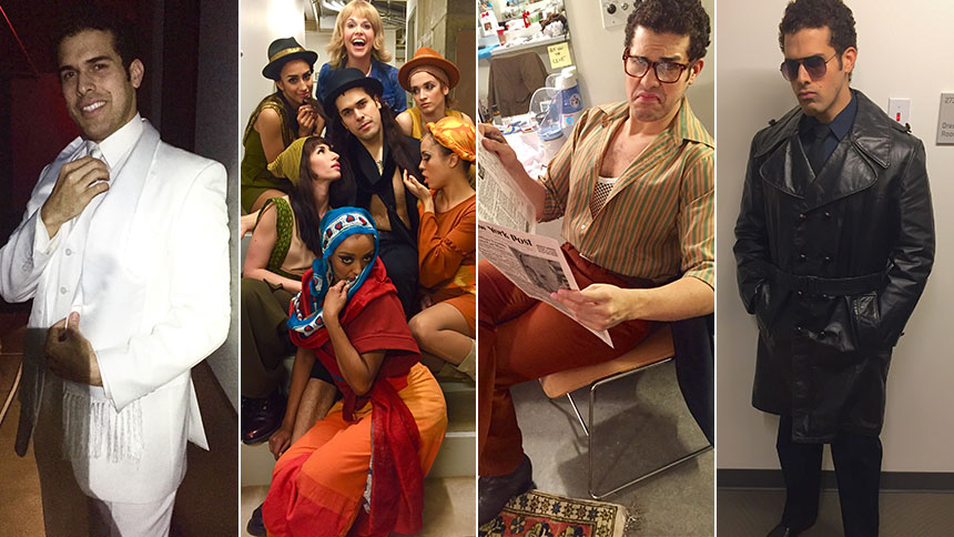 Meet the Many Faces of Sweet Charity Chameleon Joel Perez