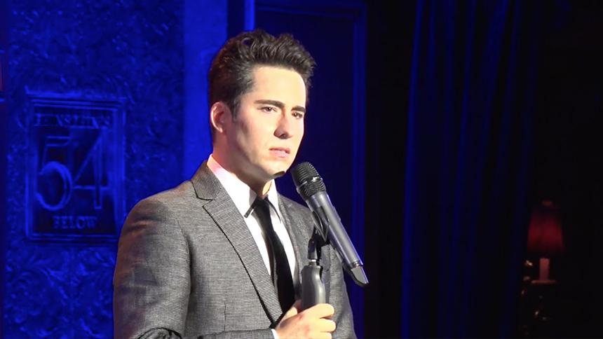 "Exclusive Video! Tony Winner John Lloyd Young Performs ""T..."