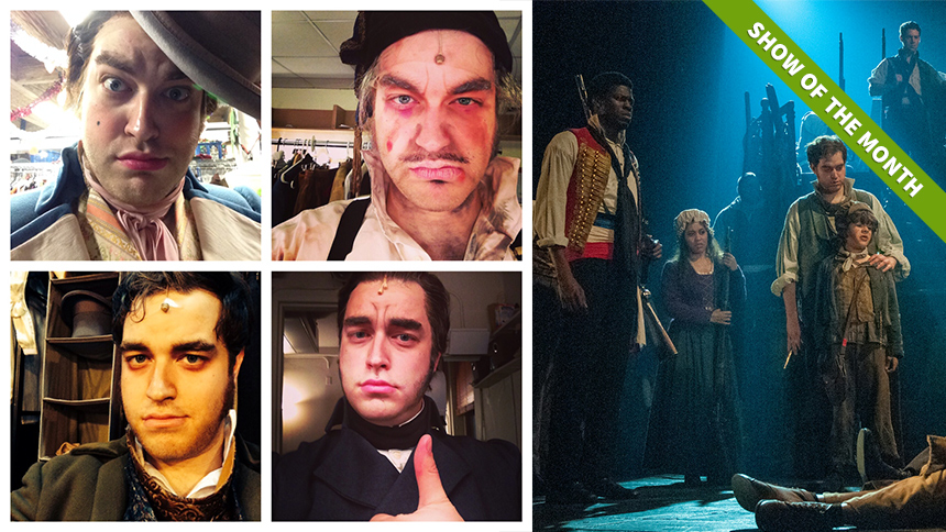 Introduce Your Self(ie): 10 Questions with Les Miserables...