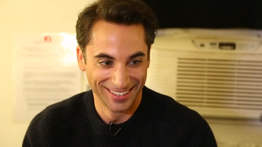 20 Questions in 2 Minutes with Jersey Boys Star Joseph Le...