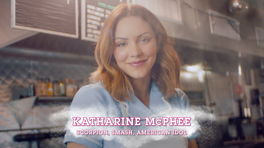 Get a First Look at the New Waitress TV Spot with Kathari...