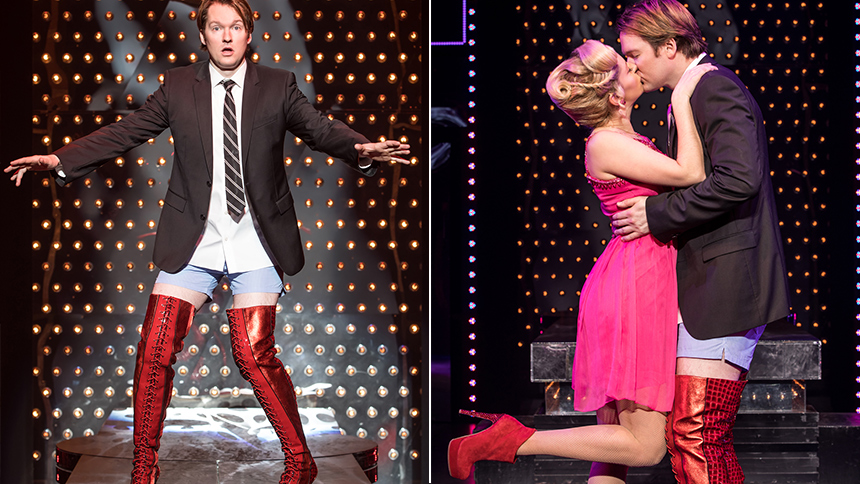 Five Burning Questions with Kinky Boots Olivier Nominee K...