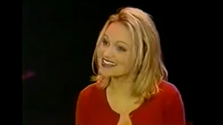 "Hot Clip of the Day: #TBT to Kristin Chenoweth Singing ""T..."