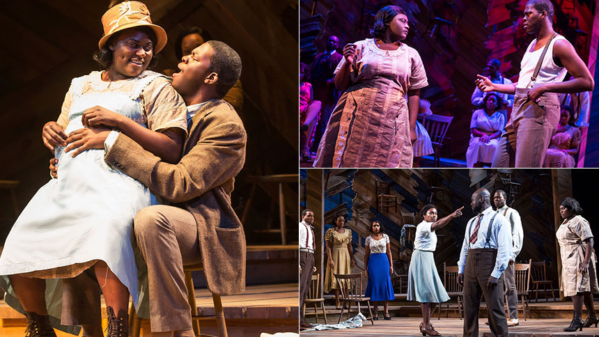 Five Burning Questions with The Color Purple Star Kyle Sc...