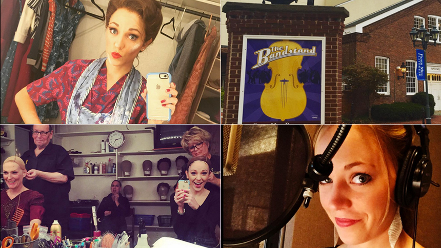 Photo Roundup! Laura Osnes Brings BBox Insta Followers Ba...