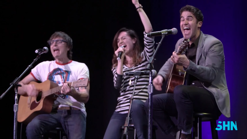Hot Clip of the Day: Lena Hall, Darren Criss, & Stephen T...