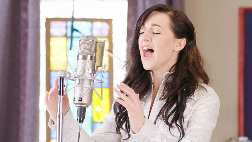 Exclusive! Get Ready to Become Obsessed as Lena Hall Wail...