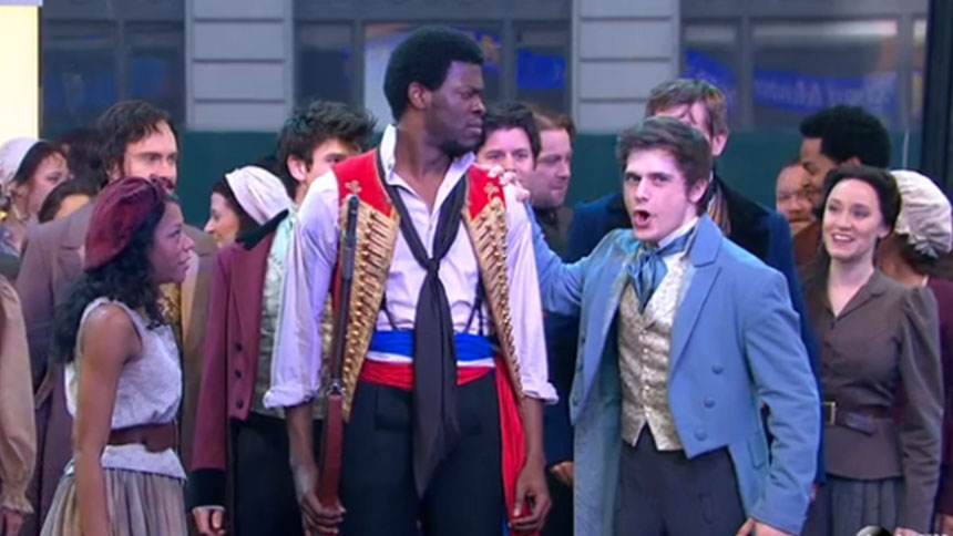"Stop, Drop & Watch: The Cast Of Les Miz Sings ""One Day More"""