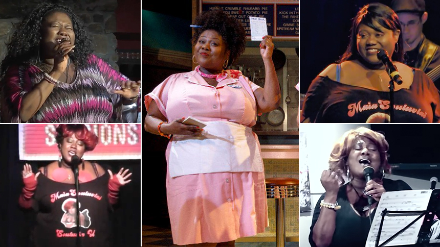 8 Videos of Waitress' New Becky, Maia Nkenge Wilson, Sing...
