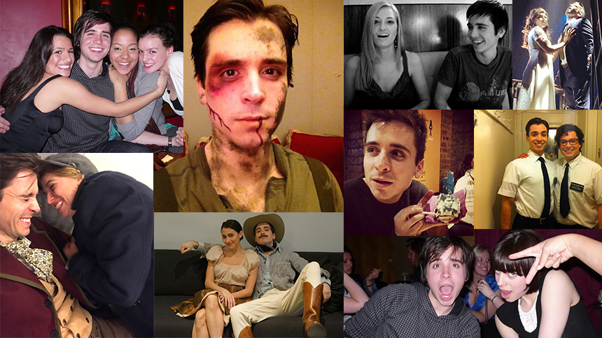 Matt Doyle Broadway Scrapbook: Sweeney Todd, Spring Awake...