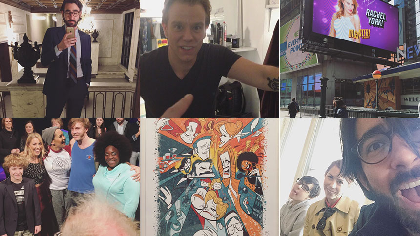 Photo & Video Roundup! Experience  An Opening Night on Br...