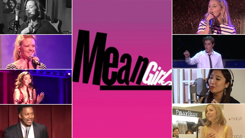Watch Mean Girls The Musical Stars In Action