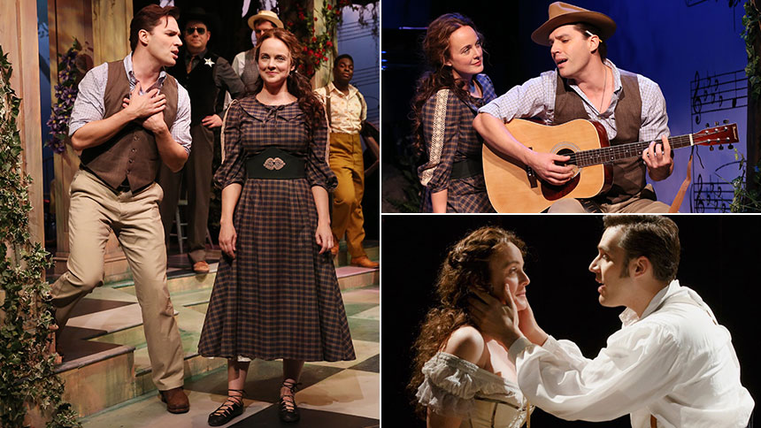 Ryan Silverman & Melissa Errico Talk Finian's Rainbow Gig...