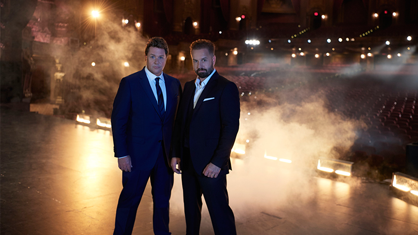 Michael Ball & Alfie Boe Talk First Impressions, Tour Bus...