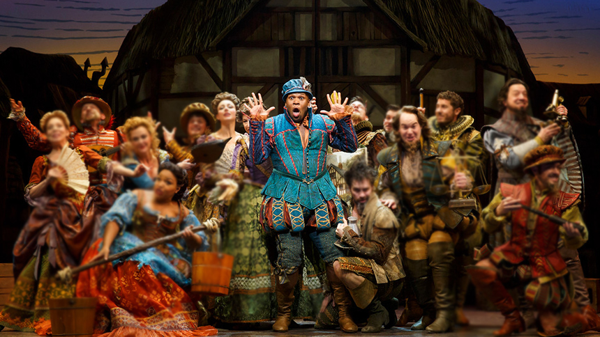Five Burning Questions with Something Rotten! Star Michae...