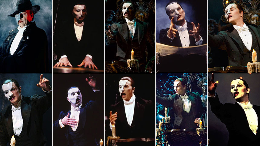 The Phantom of the Opera Turns 30! Watch Every Actor Who ...
