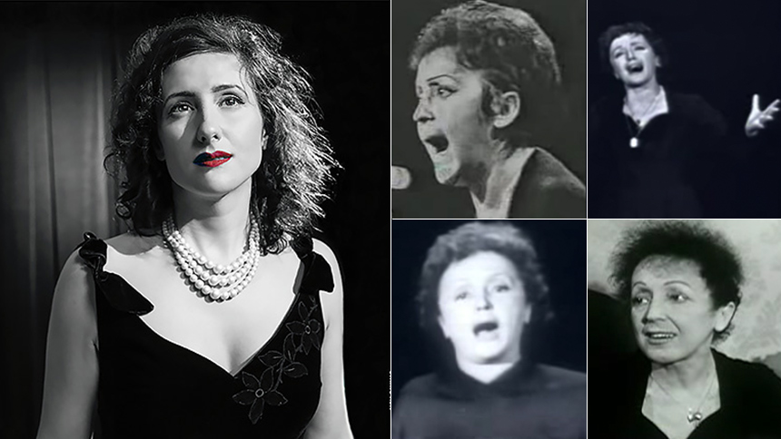 Celebrate Edith Piaf's 100 Birthday with Myriam Phiro & T...