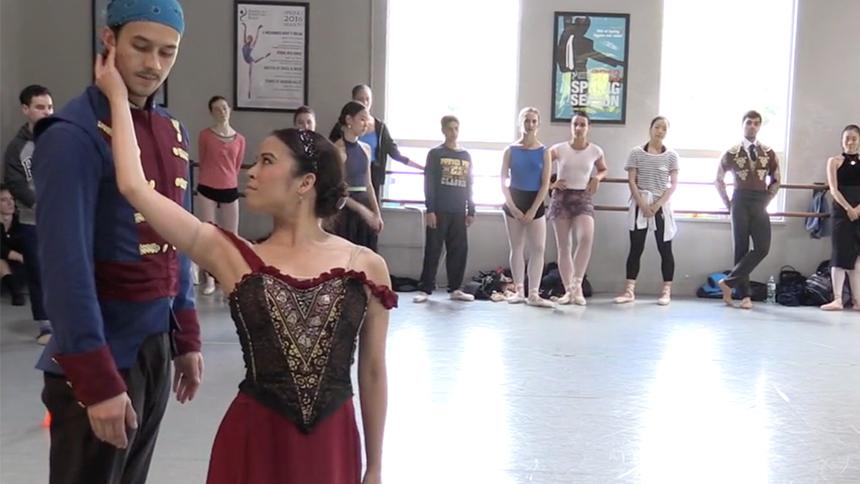 Exclusive! Watch American Repertory Ballet's Nanako Yamam...