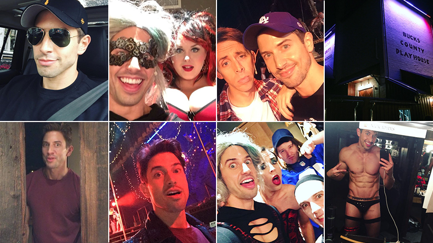 Nick Adams Takes Over Instagram for a Rocky Horror Double...