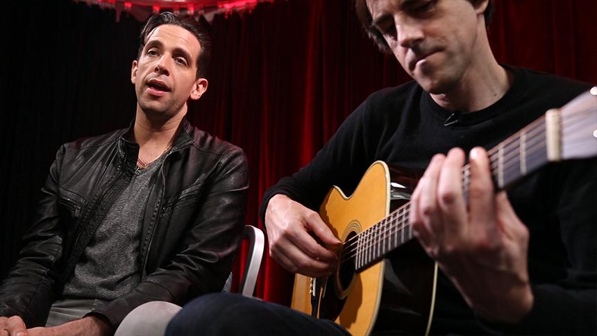Broadway Unplugged: A Bronx Tale Star Nick Cordero Croons...
