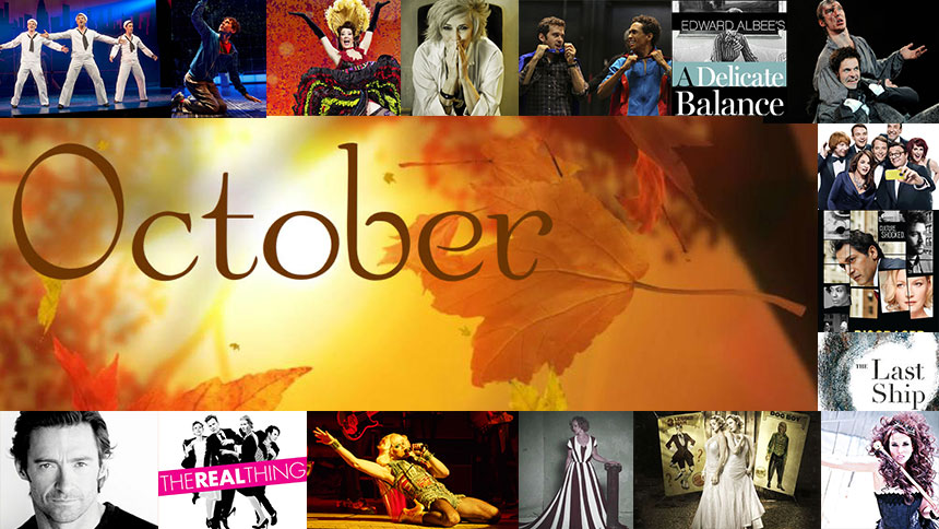 42 Things for Broadway Fans To Do & See This October in N...