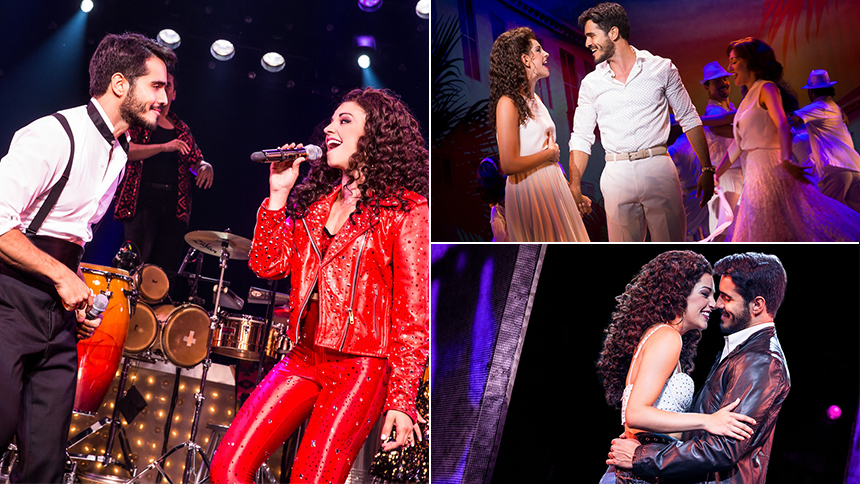 On Your Feet! Stars Ana Villafañe & Ektor Rivera Talk Fir...