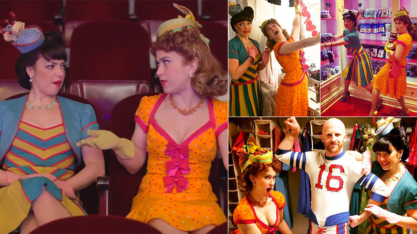 On the Town's #FlossieAndSaucy Video Shorts Are Just Too ...