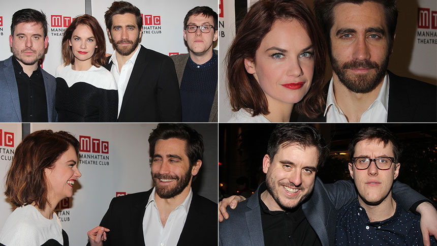 Constellations Stars Gyllenhaal and Wilson Talk Elbow Lic...