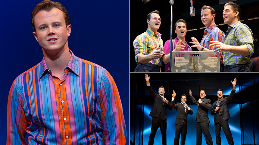 Five Burning Questions with Jersey Boys Star Quinn VanAnt...