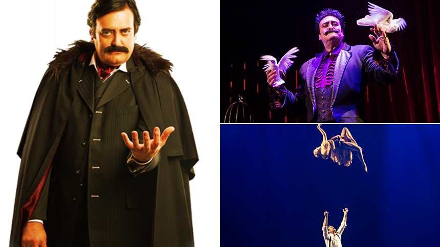 Five Burning Questions with The Illusionists World Famous...