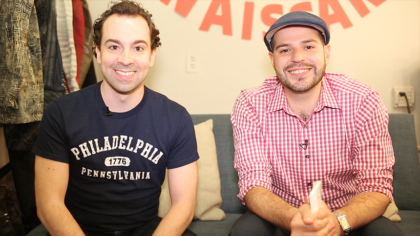 20 Questions in 2 Minutes with Something Rotten! Star Rob...