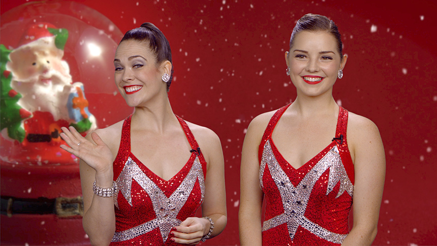 Holiday Time! Radio City Rockettes Brittany Paige Snyder ...