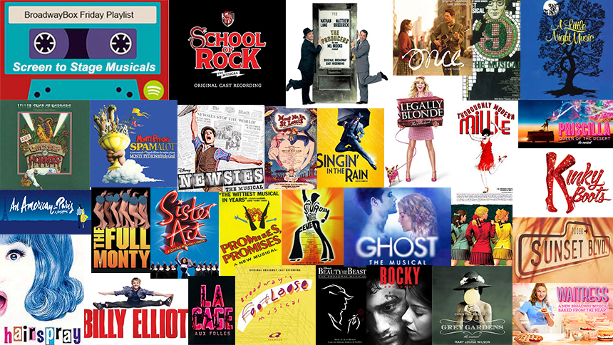 Friday Playlist: A Crazy Amount of Movie-to-Musical Broad...