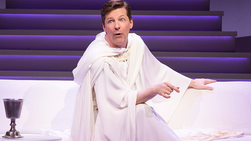 10 GIFs of Sean Hayes in An Act of God Perfect For Your G...