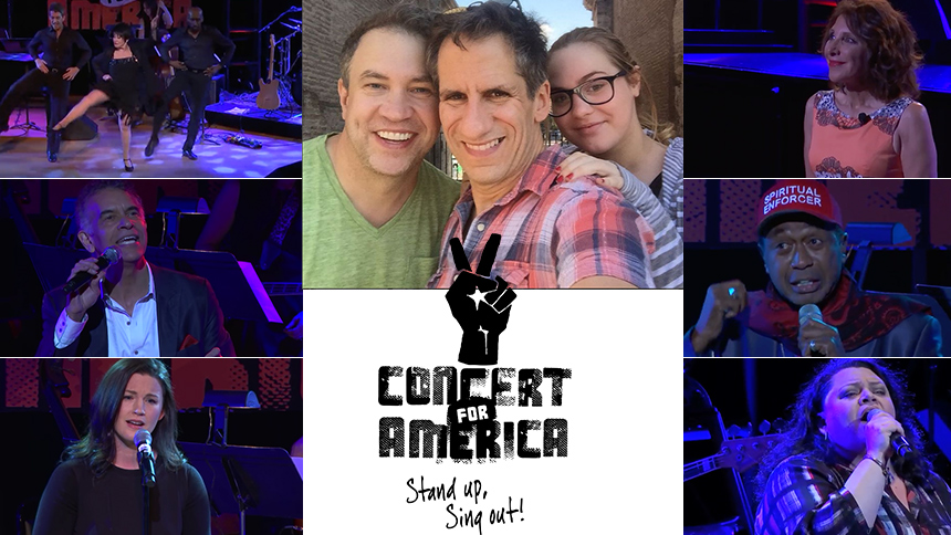 Concert For America YouTube Spiral! Seth Rudetsky and Jam...